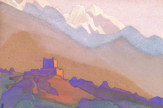 Николай Рерих - Тибет. Гималаи. 2