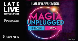 MAGIA UNPLUGGED por Juan Álvarez en Bogotá
