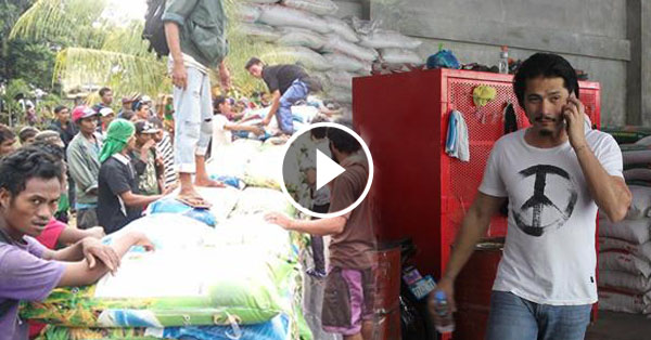 Robin Padilla Donated 200 Sacks of Rice for Kidapawan Farmers