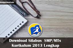 Download Silabus  SMP/MTs Kurikulum 2013 Lengkap