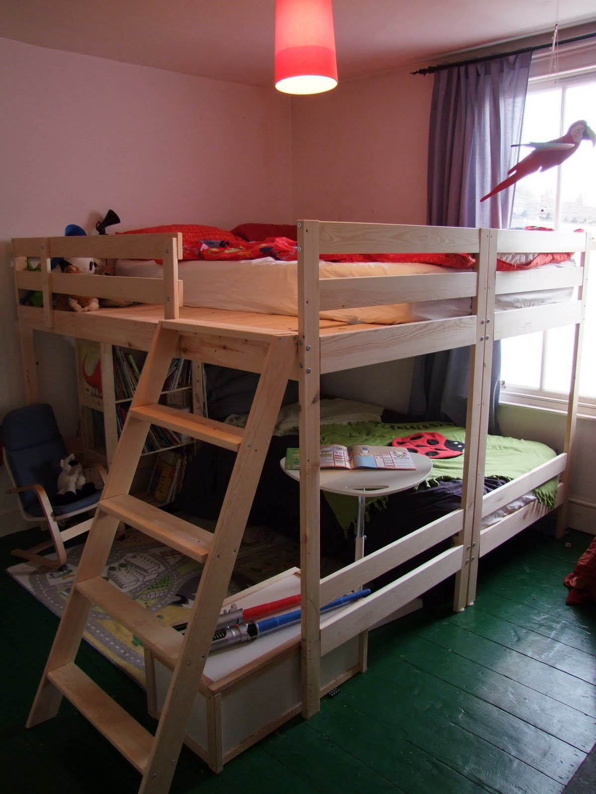 Double Loft Bed For Kids Double Bunk