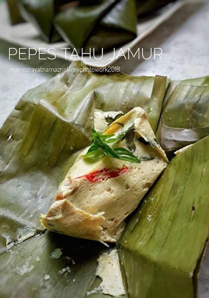 Resep Pepes Tahu Kemangi : resep, pepes, kemangi, Resep, Pepes, Jamur