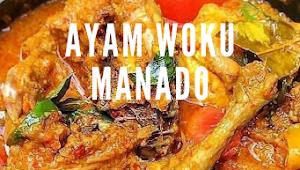Ayam Woku Manado #ayam #lauk #dinner