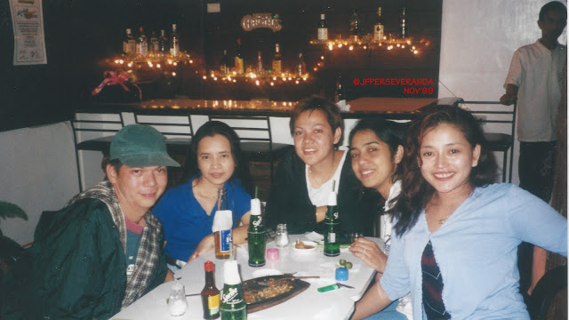 Happy birthday Annie! Flashback to Mindy's Malaybalay after our wedding on 11/16/99.