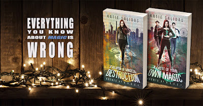 Supernatural Thriller book series by Katie Salidas