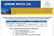 وظائف شاغرة في شركة (بتروجاس) petrogasep  للعمانيين  (ليوم 29 يناير 2020) .