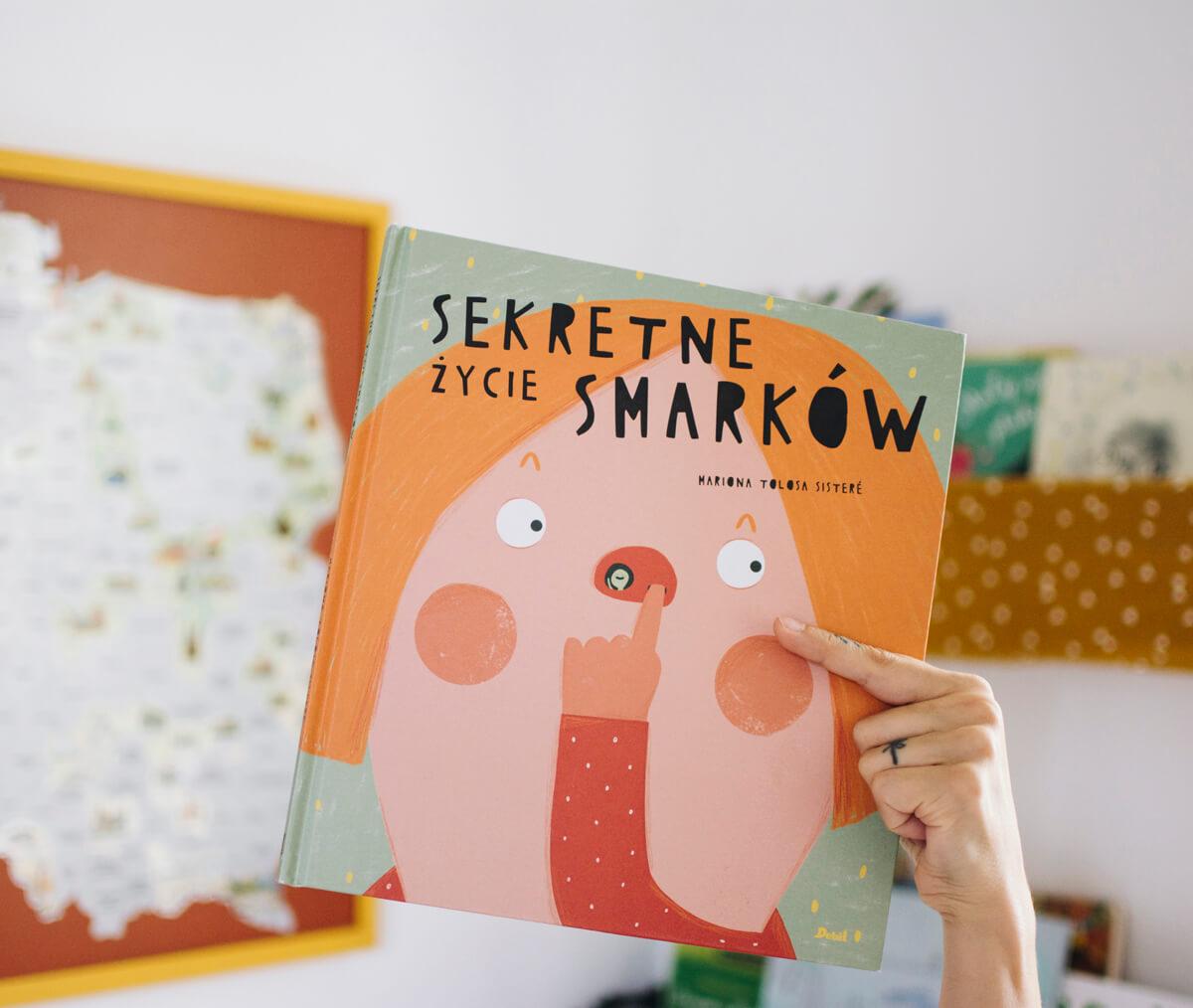 Książka dla dzieci Sekretne życie smarków