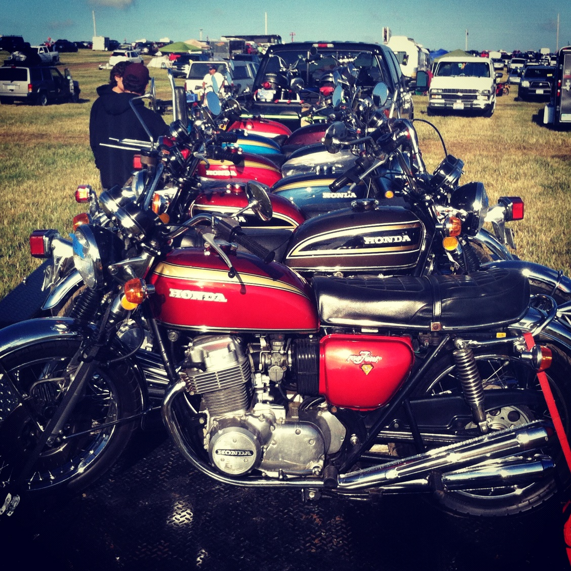 Don't Ask Me: Field Report: Vintage Motorcycle Days