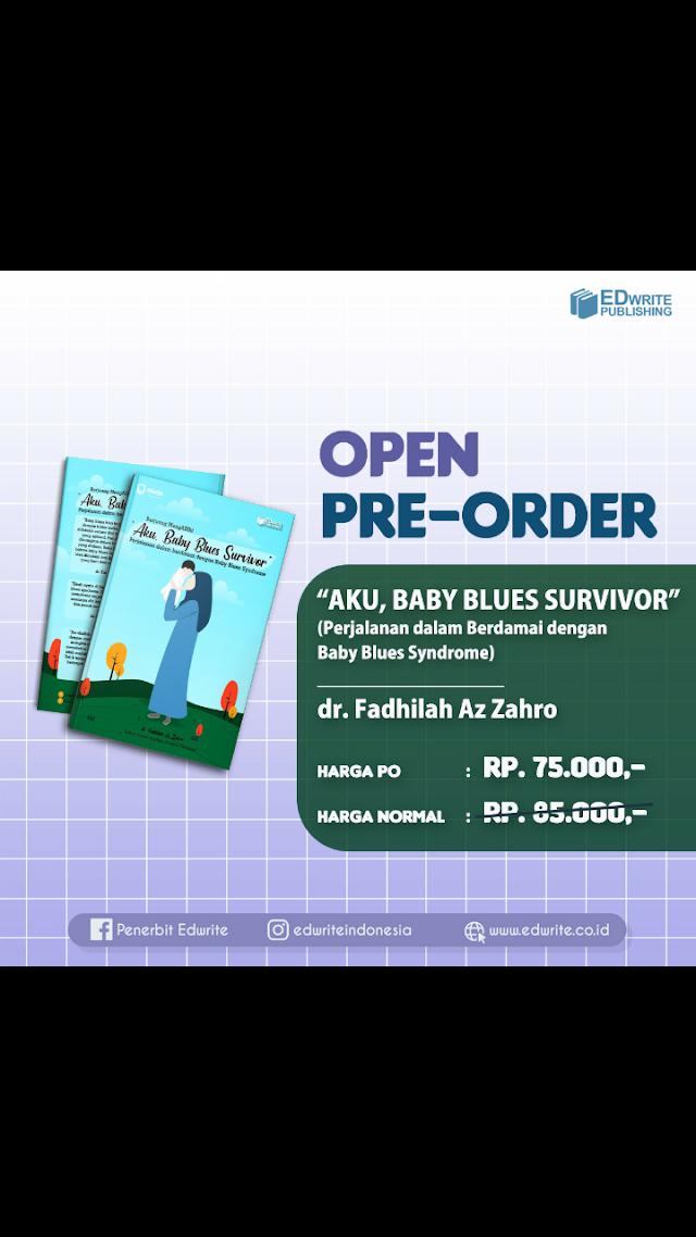 "Bedah Buku ""Aku, Baby Blues Survivor"" Karya dr. Fadhilah Az Zahro"