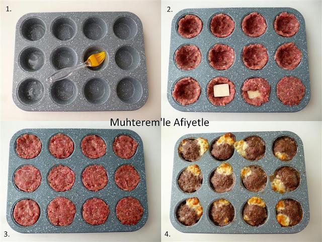 muffin köfte tarifi