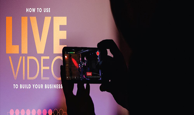 How to construct your company with live video #infographic