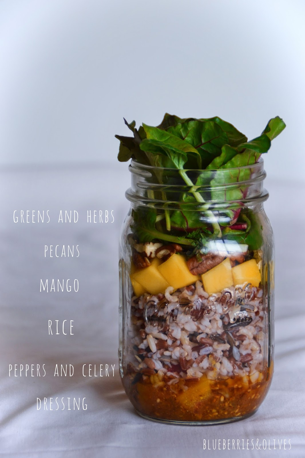 EXOTIC SALAD IN A JAR