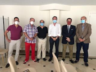 Los presidentes de las agrupaciones de cofradías se reúnen en Cádiz
