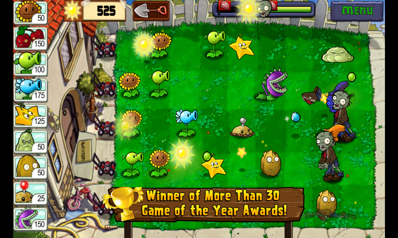 Plants vs. Zombies v6.1.11 MOD APK+DATA ~ GETPCGAMESET