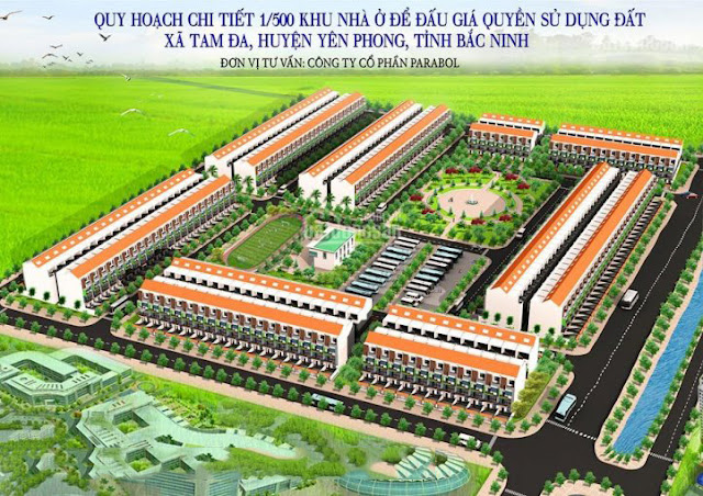 Dự án khu đô thị Tam Đa New Center Yên Phong Bắc Ninh - Tam Đa New Center