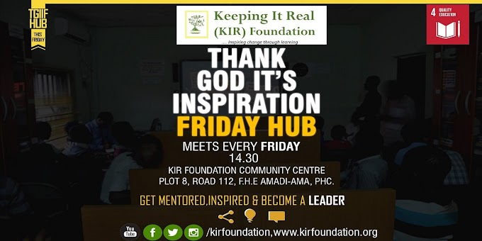 TGIIF Youth Hub: Mentorship Friday