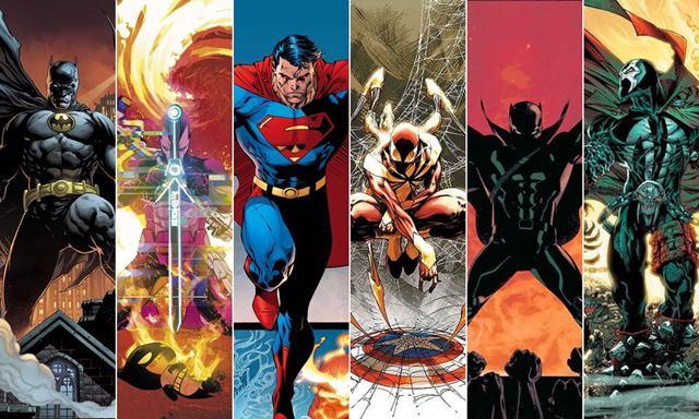 Superhéroes de cómic y personajes principales