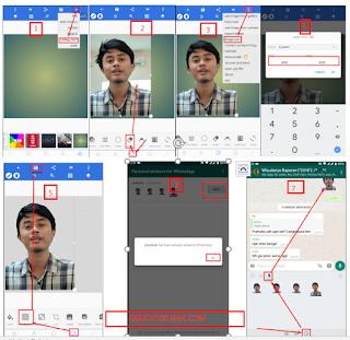Cara Membuat Foto Kita Menjadi Sticker Di Aplikasi Whatsapp Android