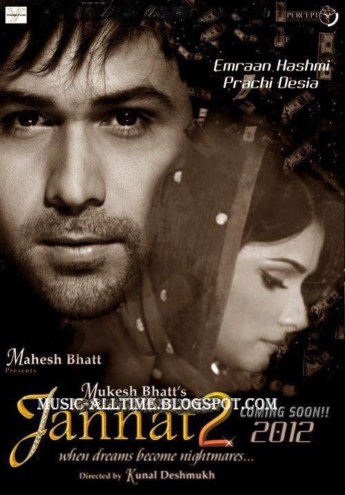 Jannat 2 Hindi Movie Songs(2012) Mp3 Free Download