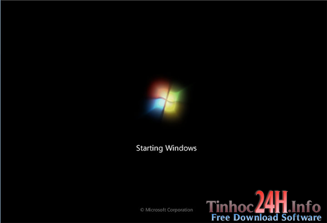 staring windows 7