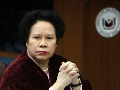 Sen. Miriam Defensor-Santiago in ICU of Makati Medical Center