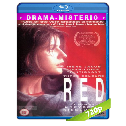 Tres Colores Rojo (1994) BRRip 720p Audio Dual Castellano-Frances 5.1