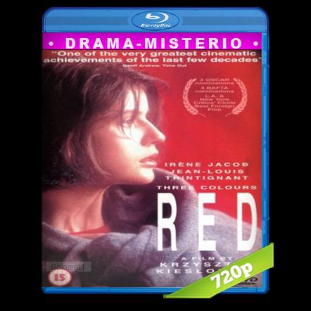 Tres Colores Rojo (1994) BRRip 720p Audio Dual Castellano-Frances 5.1