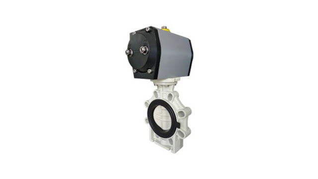 Bamo Pneumatic Butterfly Valves, Single or Double Acting VPP K4-PPH