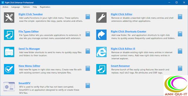 (Software) Right Click Enhancer Pro 4.5.5.0 - Kiểm soát menu chuột phải