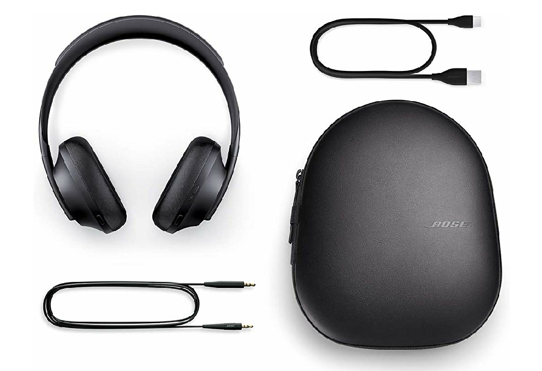 Bose headphones 700 with Quad microphones, fast charging