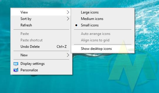 Cara Mengembalikan Tampilan Icon Yang Hilang Di windows