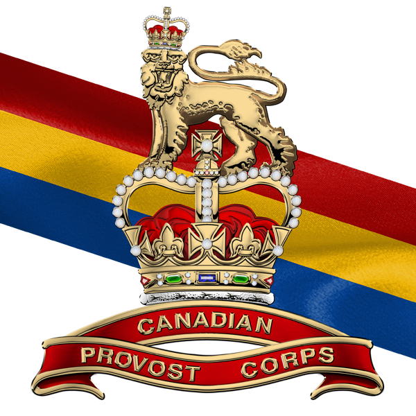 Military Insignia 3d Canadian Provost Corps C Pro C Badge