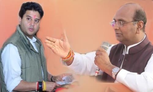 राहुल को नेता बनाने के लिये सिंधिया को घर बैठाना चाहती है कांग्रेस: सारंग