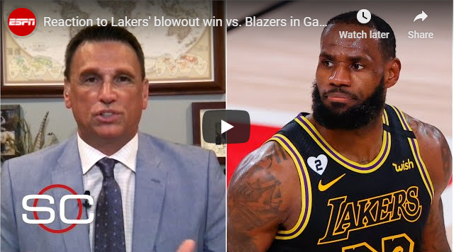 Reaction to Lakers' blowout win vs. Blazers in Game 4