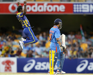 India vs Sri Lanka 8th Match CB Tri-Series 2012 Highlights