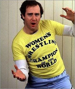 Andy Kaufman pro wrestling tee.  PYGear.com