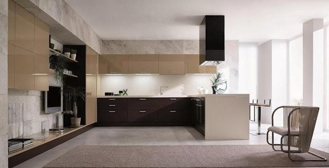 Materiales para cocinas i laminados resistentes y - Lacar muebles cocina precio ...