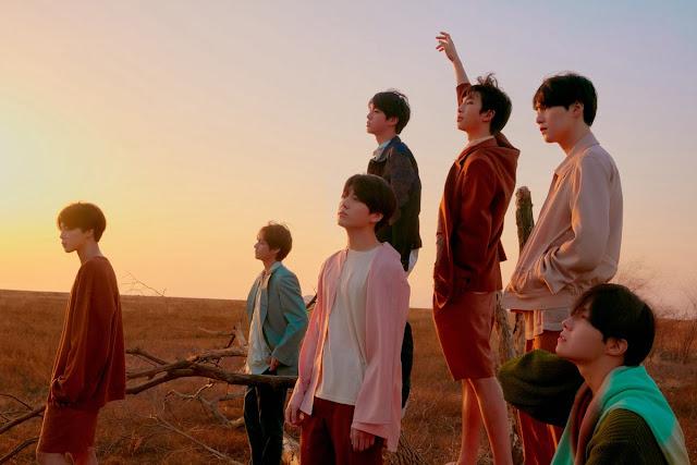 BTS's Love Yourself: Tear Group Teaser Photos