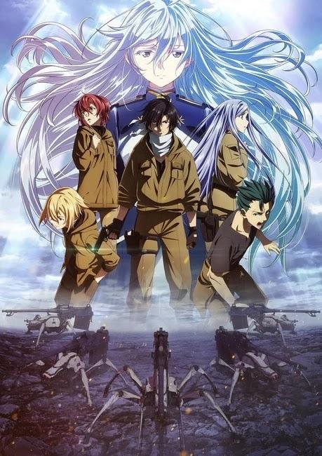 El anime 86 muestra nuevo vídeo y anuncia su estreno el 10 de abril.