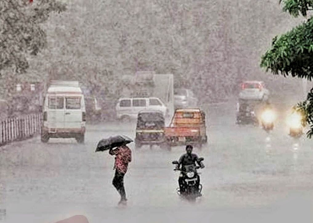 Rain storm in Delhi NCR, water logging in serval areas under passes are closed for vehicles..