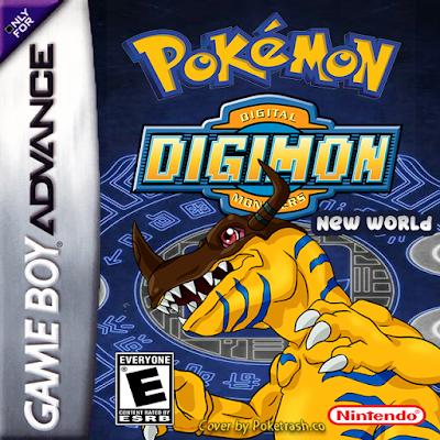 Pokemon Digimon New World GBA ROM Download