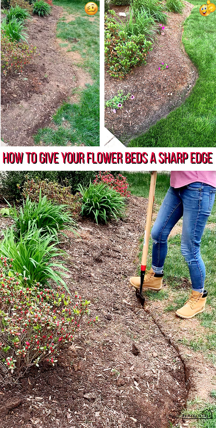 How to edge your flower beds