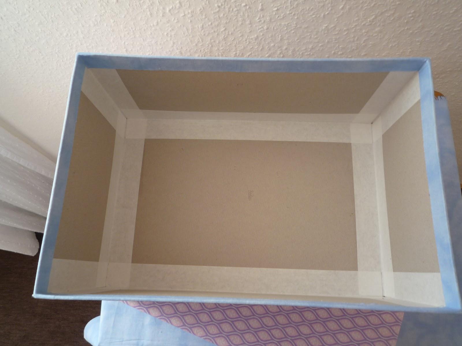 mutterhenne kartons basteln und mit stoff beziehen. Black Bedroom Furniture Sets. Home Design Ideas