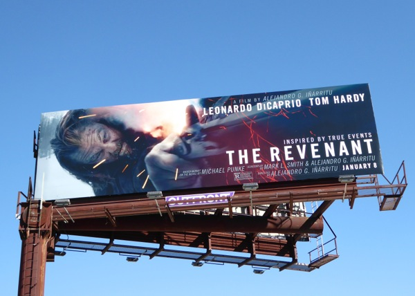 Revenant film billboard