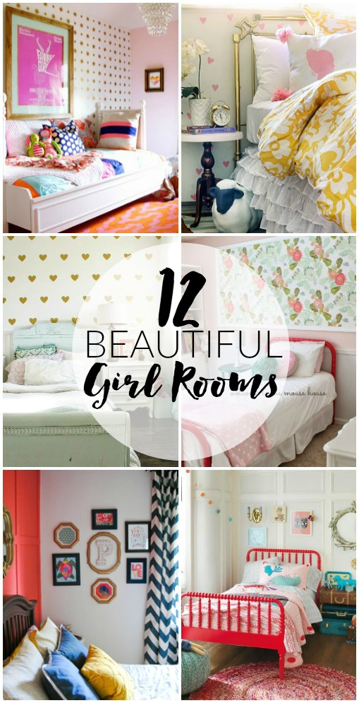 12 BEAUTIFUL little girl rooms.
