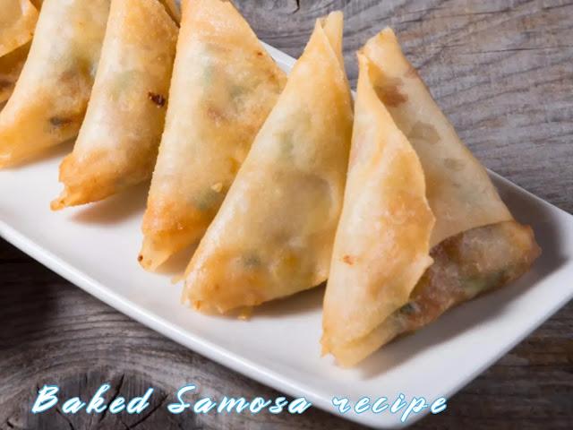 Baked Samosa recipe