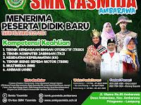 Desain Banner PPDB SMK Yasmida Ambarawa 2020 #4