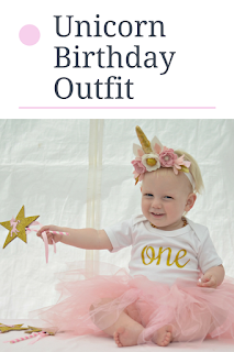 unicorn birthday outfit, unicorn first birthday outfit, themummyadventure.com