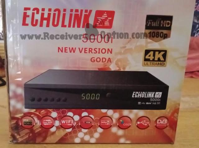 ECHOLINK 5000i 1506LV 1G 8M HD RECEIVER ORIGINAL FLASH FILE