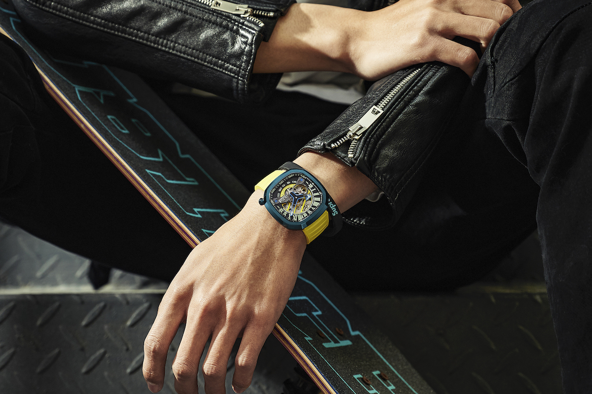 New watch blends craftsmanship with precision timekeeping